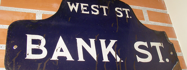 Bank Street. La calle de mi infancia.